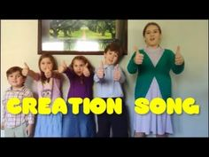 The Creation Song - Learn What God Made Each Day of Creation - Fun Song for Kids Fun Songs For Kids, Bible Lessons For Kids, Sunday School Teacher, Pre School, Bible Songs, Days Of Creation, School Songs, Preschool Bible, Kids Class