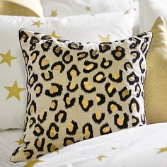 The Emily + Meritt Leopard Pillow Cover #pbteen