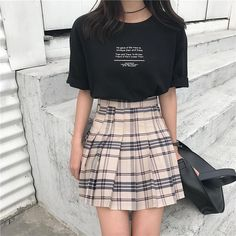 Stylish ideas on korean fashion outfits 279 K Fashion, Ulzzang Fashion, Korea Fashion, Cute Fashion, Asian Fashion, Fashion Looks, Fashion Outfits, Fashion Design, Ulzzang Style