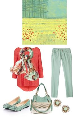 """Art Inspires"" by musicfriend1 on Polyvore"