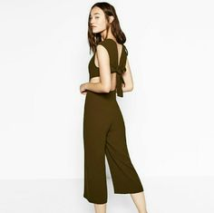 I just discovered this while shopping on Poshmark: WEEKEND SALE! (FINAL PRICE)Zara jumpsuitNWT. Check it out!  Size: S