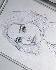 Amykour: Esquisse sur Fabri Amykour : Sketch on Fabriano Artistico cotton Pencil Pentel Graphgear Amykour: Croquis sur Fabriano Artistico coton Pencil Pentel Graphgear 1000 ______________________________________________ Merci au crayon dessin au crayon Pencil Art Drawings, Art Drawings Sketches, Cool Drawings, Girl Pencil Drawing, Drawings Of Faces, Pencil Sketch Art, Pencil Sketches Of Faces, Tumblr Sketches, Pencil Drawings Of Flowers