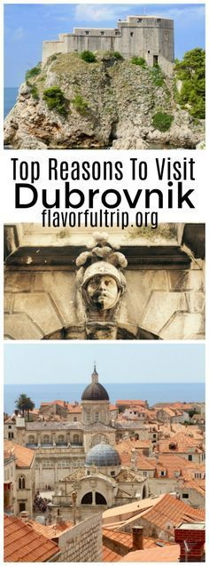 From amazing food to incredible beaches, find our top reasons to visit Dubrovnik Croatia. This destination should be on everyone's bucket list! Dubrovnik Croatia, Croatia Travel, Croatia Tourism, Travel Tips For Europe, Travel Destinations, Plitvice Lakes National Park, Cruise Port, Mexico Travel, European Travel
