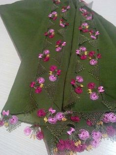 This Pin was discovered by Ben Embroidery Stitches, Tatting, Needlework, Diy And Crafts, Bomber Jacket, Textiles, Crochet, Lace, Fashion