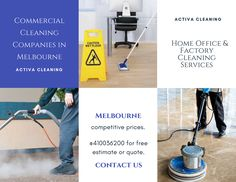 Our specialist #commercial #cleaning team is fully-trained and experienced in this area of cleaning. We utilise the appropriate equipment and methods to give you the highest quality cleaning service.  Reach us: 0410-036-200