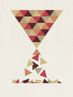 Fun - Hourglass Art Print
