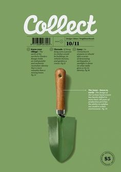 Collect Magazine, October Simple colours and layout of image and typography. Layout Design, Graphisches Design, Print Layout, Book Design, Journal Design, Time Design, Clean Design, Flyer Design, Poster Design