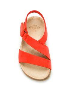 Sandalias cuero Zara