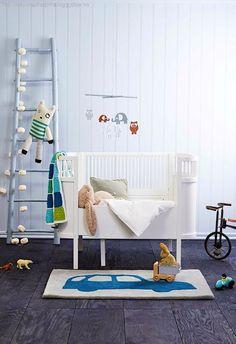 Une chambre de bébé toute en douceur, vue par Design Folia