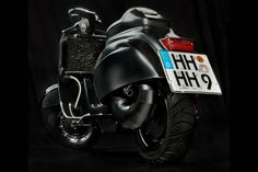 38-HP Expresso Racer Vespa makes around 5+ lbs per hp and if that's not an impressive number, we don't know what is.
