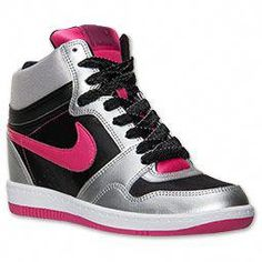the latest f22c6 13c12 Women s Nike Force Sky High Casual Shoes