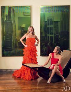 Sig Bergamin Renovates Vogue Brazil Editor Donata Meirelles's São Paulo House : Architectural Digest