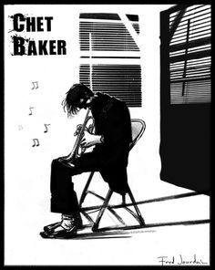 Chet Baker, par Fred Jourdain
