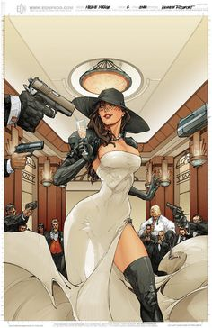 Madame Mirage by Kenneth Rocafort