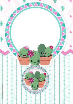 Scrapbook Images, Reward Stickers, Cute Puns, Cactus Painting, Print Calendar, Bullet Journal Art, Flower Doodles, School Decorations, Binder Covers