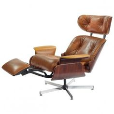 Ordinaire Selig Reclining Lounge Chair   Yahoo Image Search Results   Mid Century  Furniture   Pinterest   Mid Century Furniture, Stools And Mid Century