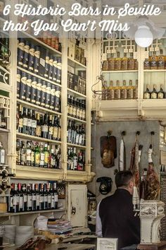 Seville is a city with rich history! Here's Devour's list of 6 historic bars in Seville that you can't miss...