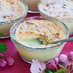 Luscious Lemon Pudding - a luscious and decadent dessert, that is also worth $250,000 (Click and read about this pudding)
