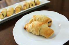 Juggling With Kids: Chocolate & Peanut Butter Crescent Rolls