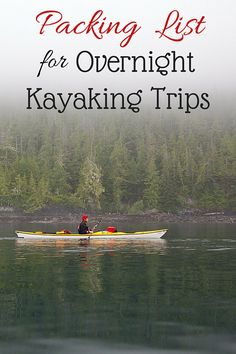 Kayaking with Whales in Johnstone Strait - plus a complete packing list!
