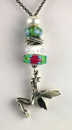Trollbeads Fantasy Fairy Necklace. If you haven't laid eyes on this necklace you should! It's a sleeper and it shouldn't be! http://www.trollbeadsgallery.com/fantasy-necklace-with-fairy-silver/