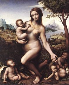 Leda by Leonardo da Vinci #art
