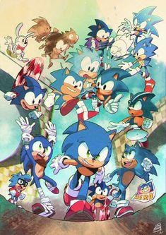 Hedgehog Art, Sonic The Hedgehog, Sonic Mania, Sonic 3, Sonic Fan Art, Classic Sonic, Sonic Heroes, Sonic Fan Characters, Sonic Franchise