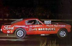 Daddy Warbucks Ford Mustang Funny car