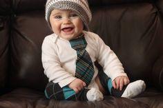 Tie onesie, baby boy, boy leggings