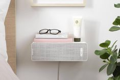Hidden in plain sight: IKEA teams up with Sonos to create wi-fi speakers concealed inside a lamp and a shelf A Shelf, Shelves, Kitchen Rails, Space Copenhagen, Swedish Interiors, Ikea Design, Hm Home, Sustainable Furniture, Home Tech