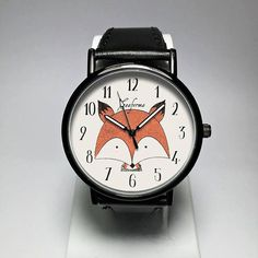 Fox Watch. Fox Jewelry. Womens Watches. Mens Watch. Woodland Animals Creatures. Fox Print. Red Fox. Forest Animals. Cute Gifts. Freeforme Watches Freeforme Watches 2016 I also do custom or personalized watches , please contact me and Id be glad to make something special for you and your loved ones. *Photos are owned by Freeforme Ships Worldwide Type: Quartz Wrist Size: Adjustable from 17 cm to 21 cm (6.69 inches to 8.26 inches) Display: Analog Dial Window Material: Glass Case Material: Metal…