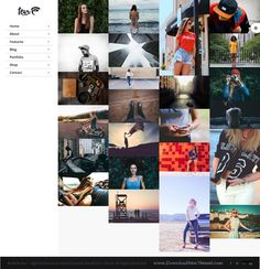 Fevr is the new generation of responsive WordPress #themes with 32+ homepage concepts for multipurpose website. #photographer #leftmenu Download Now!