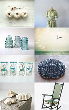 Beautiful collection by Rhonda from http://www.etsy.com/shop/shadowjewels