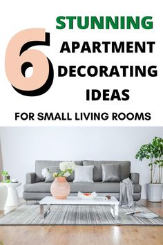 Looking for apartment decorating ideas for your small living room? These apartment decor ideas are so good if you're on a budget, for college apartments, and for couples. Love love LOVE the boho chic style she shows, especially! Great ideas for rental apartments, too. #apartment #decorating #formalnormal