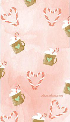 Lauren conrad Christmas iPhone wallpaper