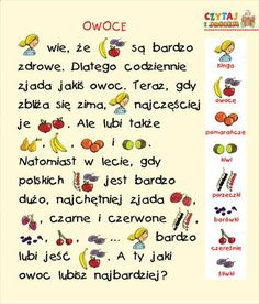 Learn Polish, Polish Language, Education, Learning, School, Montessori, Speech Language Therapy, Stream Bed, Educational Illustrations