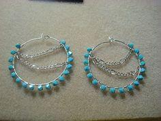 My first hoops earrings