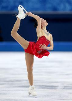 Akiko Suzuki #Sochi2014 #FigureSkating