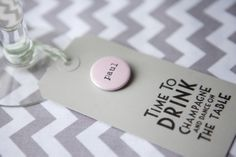 Set of 25 Coloured Card Luggage Tags with name badge - Wedding in a Teacup