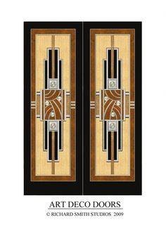 Richard Smith Studios....Art Deco Doors