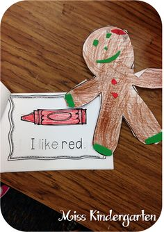 Candy Cane Tear Art {holiday craft ideas}