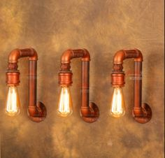 American Village Loft Industrial Edison Style Vintage Wall Light Lamp, Retro Water Pipe Lamp Wall Sconce Free Shipping(China (Mainland))