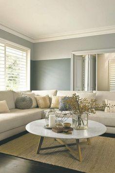 Wohnzimmer In Neutralen Farben Einrichten