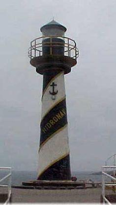 Islote Huaquillo lighthouse [1973 - Santa Rosa, Lima, Peru]