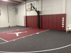 Visualize Taking A Last Second Three Point Shot On This Awesome Michael Jordan Themed Indoor Court