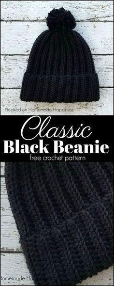 8eeaa016998 Classic Beanie Crochet Pattern