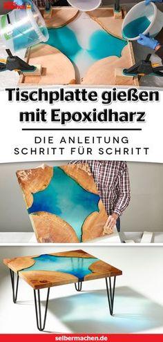 100+ Epoxit Ideen in 2020 | harz möbel, epoxidharz holz