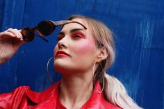 Editorial piece done today  @j.esic.ahall - instagram  #fashion #colour #red #girl #photography #uni