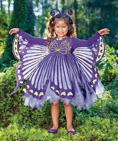 purple butterfly girls costume