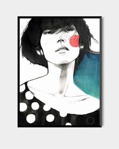 Plakat Kobieta VI, 50 x 70 cm, Pako Studio